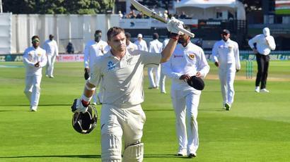 Rediff Sports - Cricket, Indian hockey, Tennis, Football, Chess, Golf - Tom Latham hits unbeaten 264 as Sri Lanka crumble again