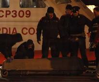 Italy Rescuers battle to save passengers from burning ferry off Greece coast
