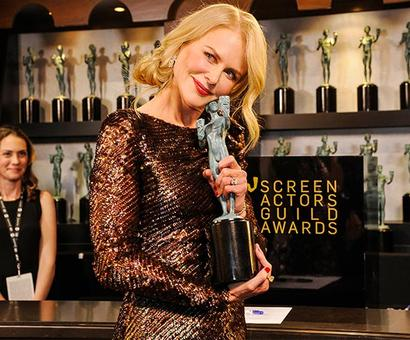 Current Bollywood News & Movies - Indian Movie Reviews, Hindi Music & Gossip - SAG Awards: Nicole Kidman, Gary Oldman, Frances McDormand win