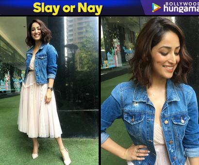 Current Bollywood News & Movies - Indian Movie Reviews, Hindi Music & Gossip - Slay or Nay: Yami Gautam in Needle and Thread for Uri promotions
