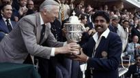 Rediff Sports - Cricket, Indian hockey, Tennis, Football, Chess, Golf - Israeli PM Netanyahu hails Kapil Dev's 1983 World Cup winning team, says it shows India's competitiveness