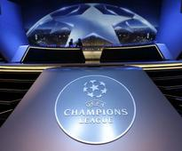 Rediff Sports - Cricket, Indian hockey, Tennis, Football, Chess, Golf - Uefa guarantees four Champions League berths for top four leagues in Europe