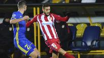 Rediff Sports - Cricket, Indian hockey, Tennis, Football, Chess, Golf - Atletico Madrid winger Yannick Carrasco signs new contract until 2022