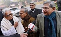 Left Front Leaders Meet Prime Minister Modi