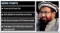 UN panel calls Mumbai terror attack key planner Hafiz Saeed 'Sahib', India to seek clarification