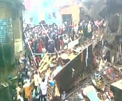 Five killed in Bhiwandi building collapse