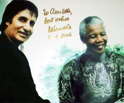 LIVE! Bollywood tweets moments with Mandela