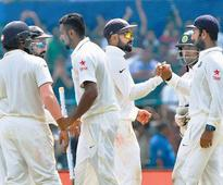 Rediff Sports - Cricket, Indian hockey, Tennis, Football, Chess, Golf - India a win away from reclaiming No. 1 Test ranking