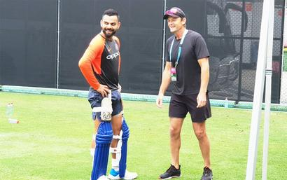 Rediff Cricket - Indian cricket - Kohli on aggression, sledging and having top-class bowlers
