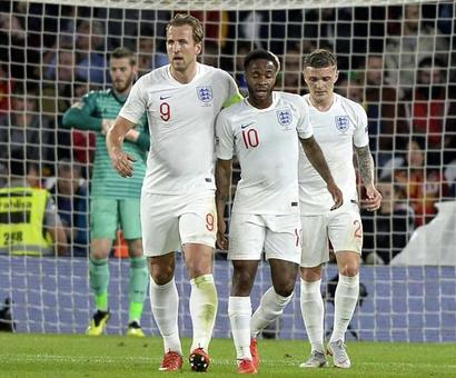 Rediff Sports - Cricket, Indian hockey, Tennis, Football, Chess, Golf - Nations League: Raheem Sterling Shines As England Blow Spain Away