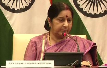 We did not keep anyone in dark, says Swaraj; slams Congress