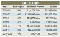 In 7 Years, Rs 9 Lakh Crore Investments Get OK, Just Rs 1 Lakh Crore Take Off