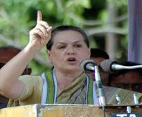 Sonia Gandhi expresses disappointment over SC verdict criminalising gay sex