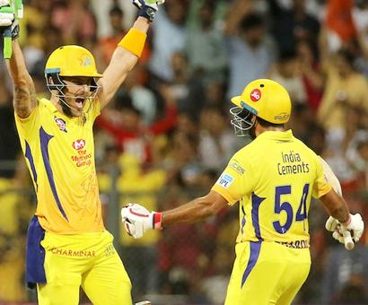 Rediff Cricket - Indian cricket - Fabulous Faf ensures amazing CSK victory