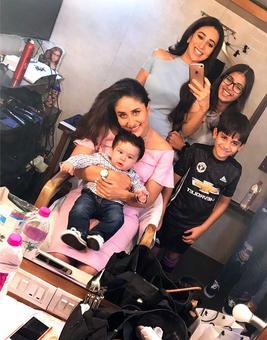 Current Bollywood News & Movies - Indian Movie Reviews, Hindi Music & Gossip - Adorable Taimur, a pregnant Soha