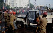 Tensions erupt in Agartala after IPFT workers storm town