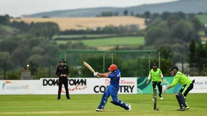 Rediff Cricket - Indian cricket - Afghanistan smash world record as Hazratullah Zazai demolishes Ireland bowlers