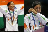 Asian Games: Cheated Sarita refuses to wear bronze, Mary Kom wins gold