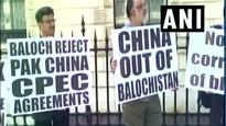 London: Baloch, Sindhi leaders hold joint protest against CPEC; chant 'Modi, India for Balochistan'