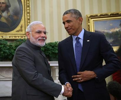 Modi and Obama set out to create a model for the world