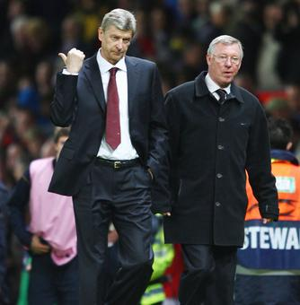 Rediff Sports - Cricket, Indian hockey, Tennis, Football, Chess, Golf - Wenger 'one of the greatest managers', says Ferguson