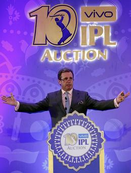 Rediff Sports - Cricket, Indian hockey, Tennis, Football, Chess, Golf - PHOTOS: How the IPL Auction panned out