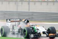 Hulkenberg 8th in Chinese GP qualifying