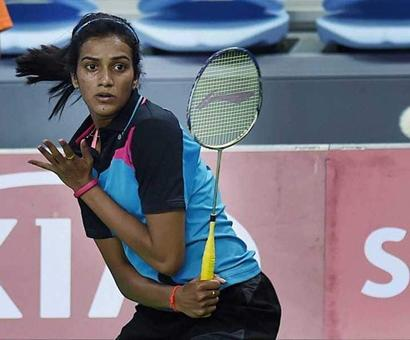 Rediff Sports - Cricket, Indian hockey, Tennis, Football, Chess, Golf - Denmark Open: Sindhu Crashes Out In First Round; Saina, Sameer Advance