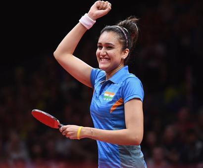 Rediff Sports - Cricket, Indian hockey, Tennis, Football, Chess, Golf - CWG star Manika Batra recommended for Arjuna