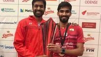 Rediff Sports - Cricket, Indian hockey, Tennis, Football, Chess, Golf - BAI announces Rs 5 lakh cash award for Kidambi Srikanth after Denmark Open win