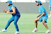 Team India stays cool in Perth heat ahe... Team India stays cool in Perth heat ahead of UAE tie