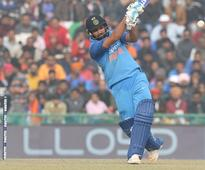 Rediff Cricket - Indian cricket - Stats: Rohit rewrites several records after third 200 in ODIs
