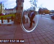 First pictures: Terror attack on Canada parl caught on camera
