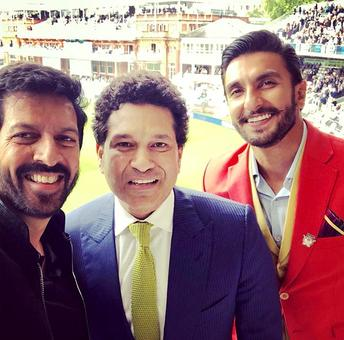 Current Bollywood News & Movies - Indian Movie Reviews, Hindi Music & Gossip - When Ranveer met Sachin at Lord's