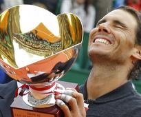 Rediff Sports - Cricket, Indian hockey, Tennis, Football, Chess, Golf - Nadal wins his 10th Monte-Carlo Masters