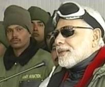 PM Narendra Modi says 'happy Diwali' from Siachen; strike hits J&K valley