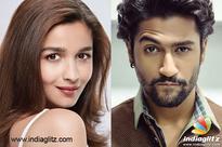 Current Bollywood News & Movies - Indian Movie Reviews, Hindi Music & Gossip - Vicky Kaushal is all 'Raazi' for Alia Bhatt