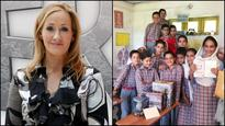 Current Bollywood News & Movies - Indian Movie Reviews, Hindi Music & Gossip - JK Rowling's generosity brings smiles to these Jammu and Kashmir students