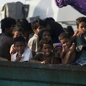 Myanmar says finds more than 200 Bangladeshis in boat offshore