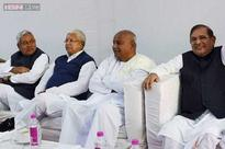 BJP terms coming together of Janata Parivar as 'get-together of corrupt'
