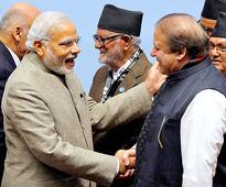 In pics Modi Sharif cold shoulders to handshakes at Saarc