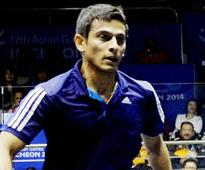 Saurav Ghosal settles for silver in Squash event