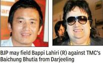 Baichung may face Bappi music