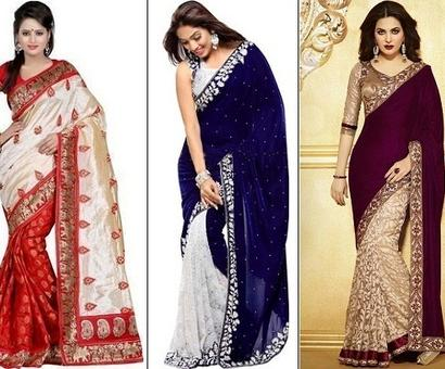 9 Truly Affordable Designer Sarees To Flaunt this Festive Season
