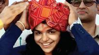Sakshi Malik's happy homecoming