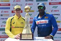 Rediff Sports - Cricket, Indian hockey, Tennis, Football, Chess, Golf - Angelo Mathews takes sly dig at Steven Smith over his midway withdrawal from the ODI series