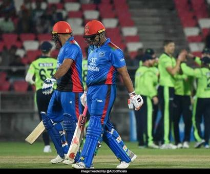 Rediff Cricket - Indian cricket - 2nd T20I Live: Afghanistan Opt To Bat Against Ireland