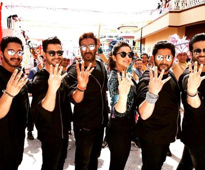 Current Bollywood News & Movies - Indian Movie Reviews, Hindi Music & Gossip - Review: Rohit Shetty's Golmaal Again!!! is a spirited affair!