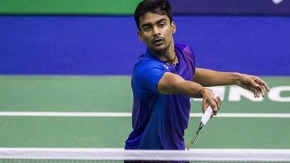 Rediff Sports - Cricket, Indian hockey, Tennis, Football, Chess, Golf - Sameer Verma vs Shi Yuqi, Semi-Final, highlights: Verma crashes out