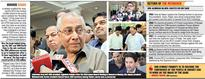 Dalmiya Cements Board Grip With Secy Thakur in tow